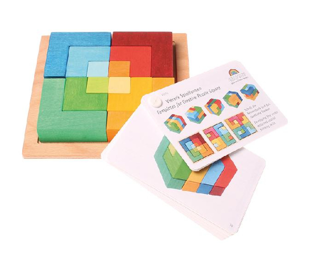 small 3-D Tangram with booklet