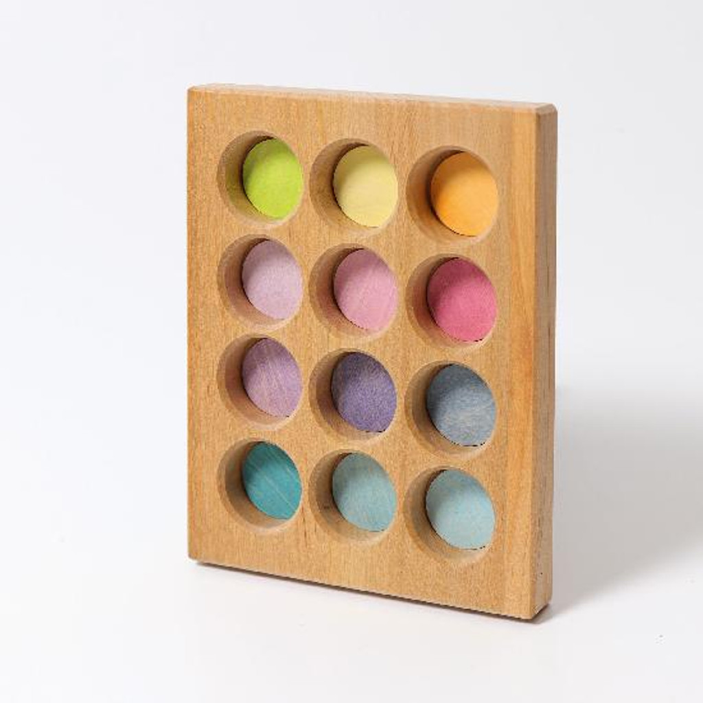 Grimm's pastel sorting board