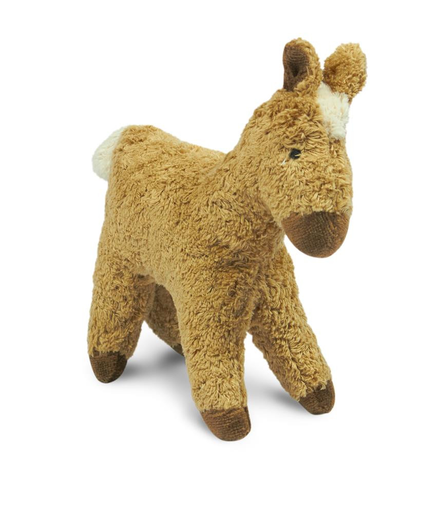 organic cotton and wool horse