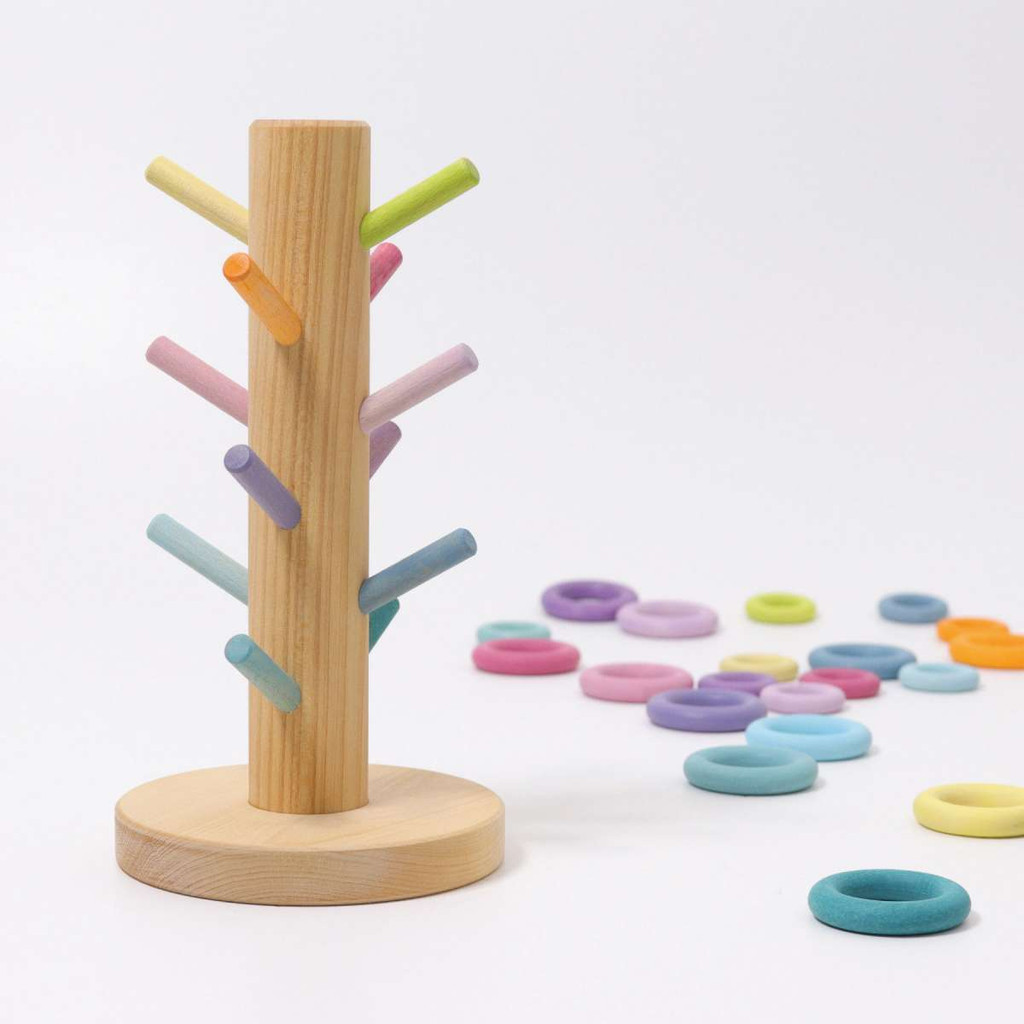 Grimm's pastel sorting helper tree