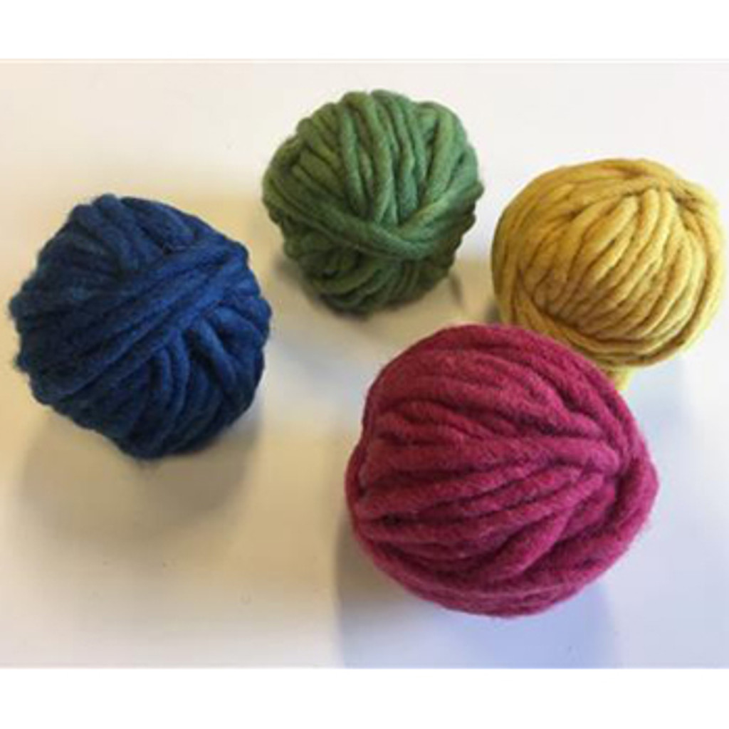 plant-dyed basic colours wool weaving thread