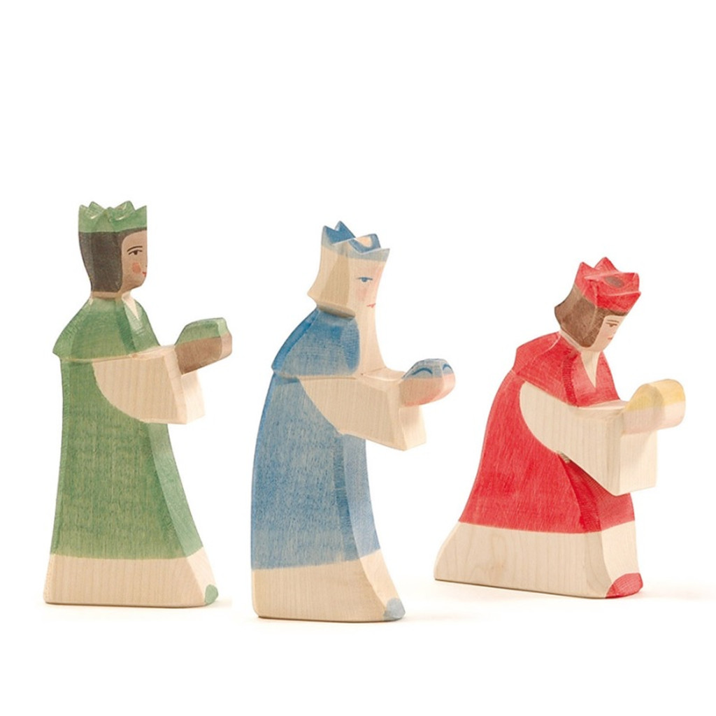 Ostheimer king red, Classic Nativity