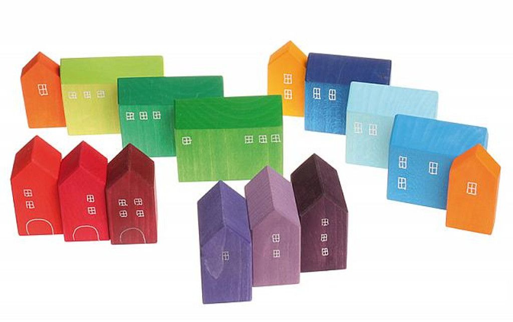 Grimm's handpainted little houses