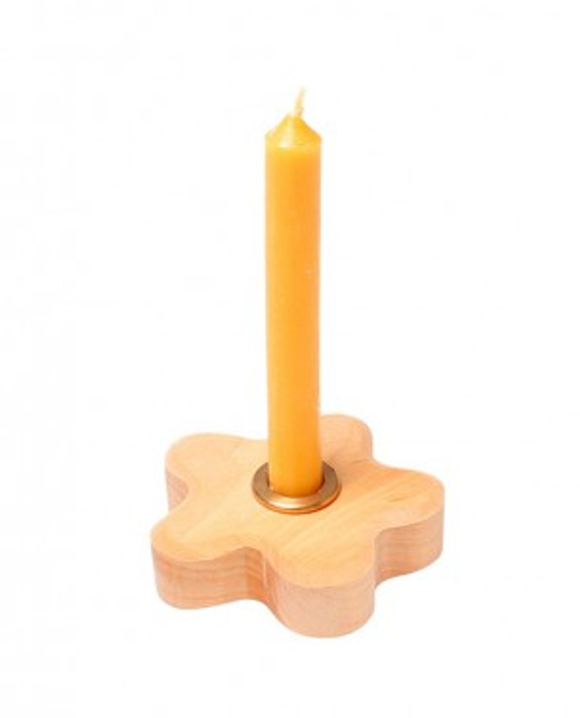 brass candle holder for birthday ring