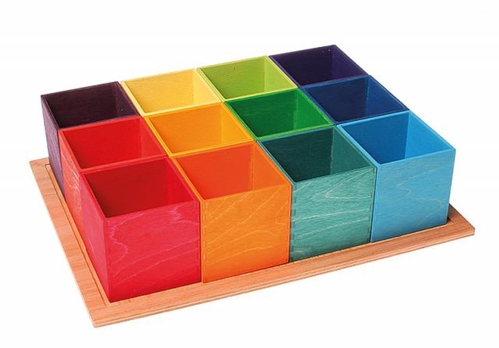 large rainbow sorting helper