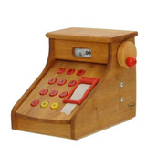 Wooden cash register