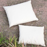 Ruskovilla wool pillows.  Made in Finland.