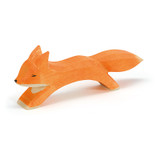 Ostheimer large fox running, 4.5 cm high.  Made in Germany.