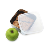 U Konserve medium to-go container.  18/8 stainless steel.  LDPE #4 lid, BPA-free.  30 oz.