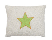 Organic cotton star pillow, made in Germany.