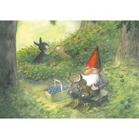 The Midsummer Tomte and the Little Rabbits
