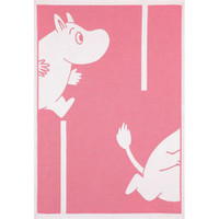 Moomin Goes cotton blanket