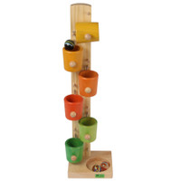tilting cups tower