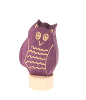 owl ornament for birthday ring