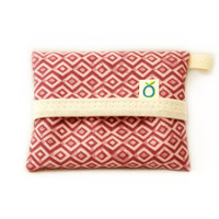 organic cotton handkerchiefs with travel pouch