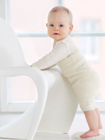 organic merino wool nappy pant, short leg, coloured (special order)
