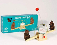 candle see-saw with bears