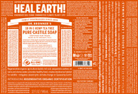Dr Bronner's tea tree pure castille soap