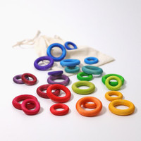 Grimm's rainbow building rings