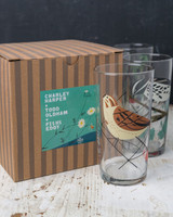 Charley Harper + Todd Oldham Birds Glasses Gift Box - Set of 4