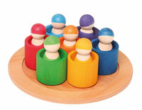 7 rainbow friends including bowls, spare parts