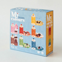 I Love My Colours puzzles