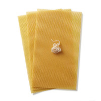 Dipam beeswax candle making sheets set
