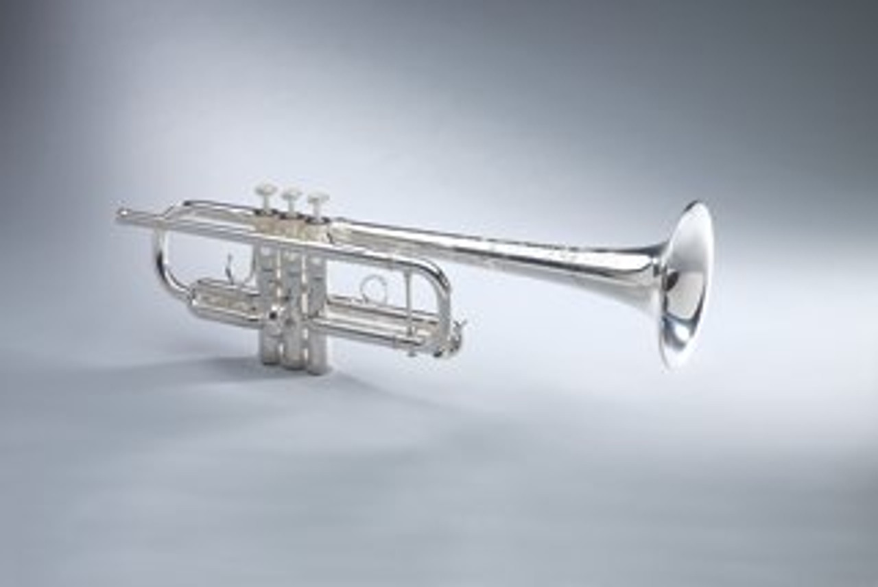 Trumpet C, Model 419 in Silver Plate by Shires