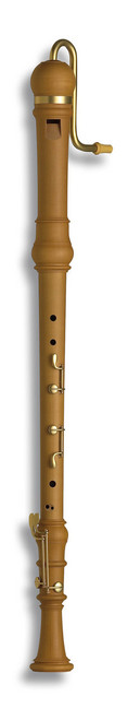 Denner Bass 5506 Pearwood, Baroque double hole with 4 keys.