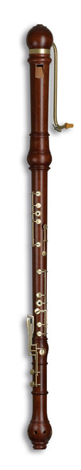 Denner Bass 5606 Pearwood dark stained, with 11 keys.