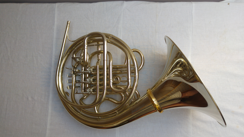 French Horn Hoyer 6802NSA  in Nickel Silver