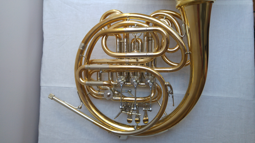 French Horn Hoyer K10 GA-L in Gold Brass