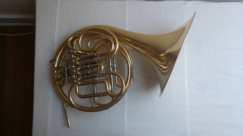 John Packer JP261 Rath Bb/F Double French Horn in Yellow Brass