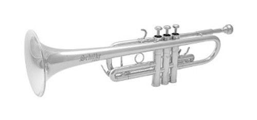 Trumpet C, C3HD Silver Plated by Schilke