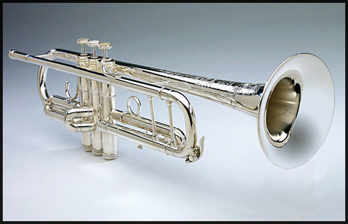 Trumpet Bb AF in Silver Plate by Shires