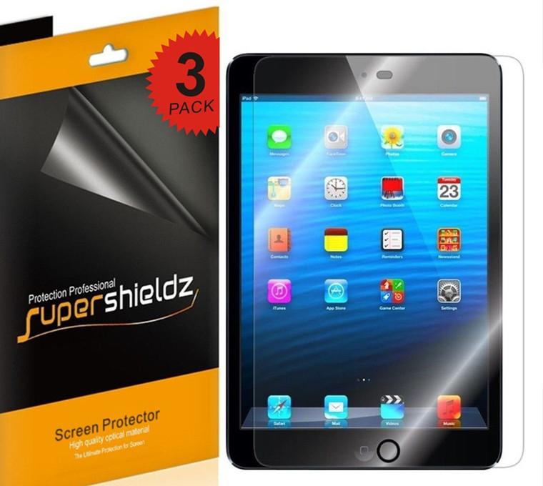 [3-Pack] Supershieldz for Apple iPad Mini 3 / iPad Mini 2 / iPad Mini Screen Protector, Anti-Glare & Anti-Fingerprint (Matte) Shield
