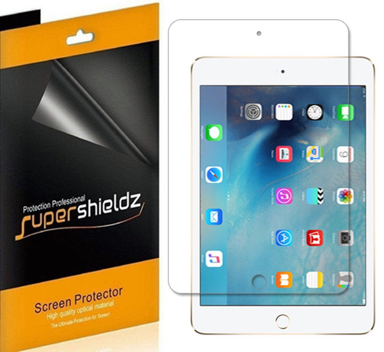 [3-Pack] Supershieldz for Apple iPad Mini 4 Screen Protector, Anti-Glare & Anti-Fingerprint (Matte) Shield