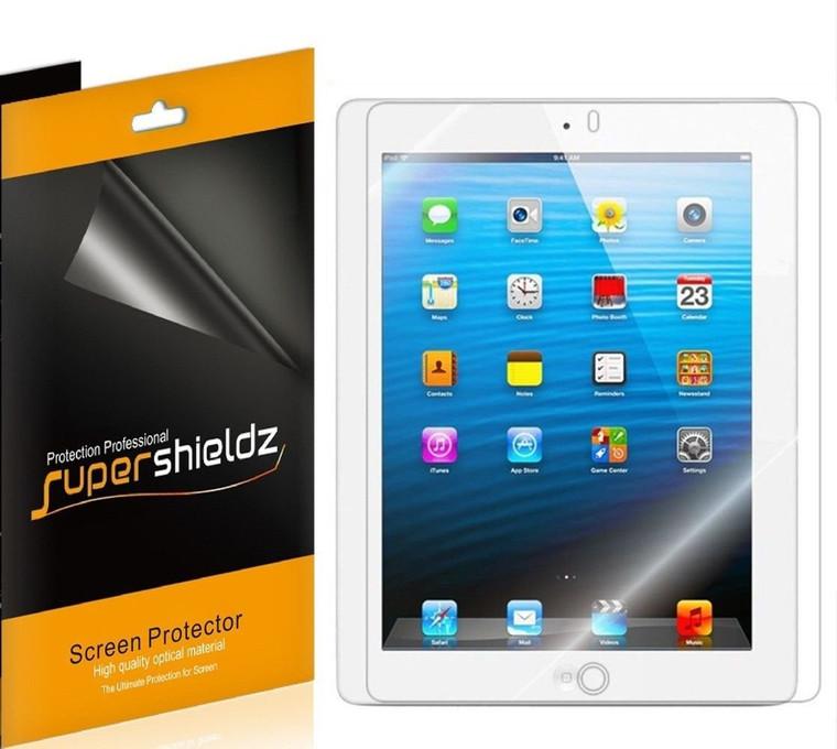 [3-Pack] Supershieldz for Apple iPad 4 / iPad 3 / iPad 2 Generation Screen Protector, Anti-Glare & Anti-Fingerprint (Matte) Shield