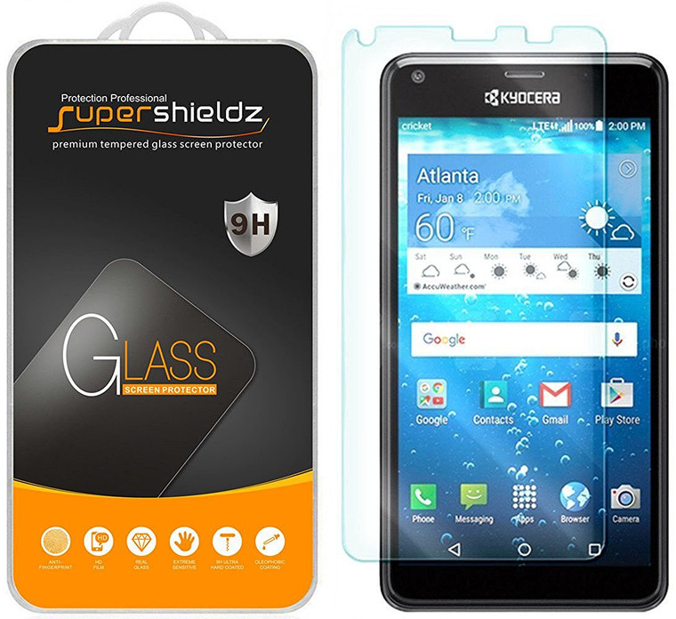 [1-Pack] Supershieldz for Kyocera Hydro Reach / Hydro View Tempered Glass Screen Protector