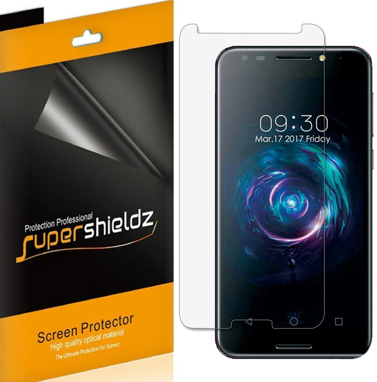 [6-Pack] Supershieldz for T-Mobile REVVL Screen Protector, Anti-Bubble High Definition (HD) Clear Shield