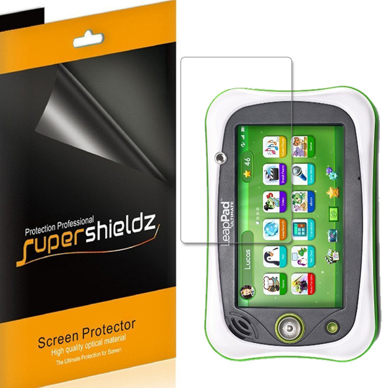 [3-Pack] Supershieldz for LeapFrog LeapPad Ultimate , Anti-Bubble High Definition (HD) Clear Shield