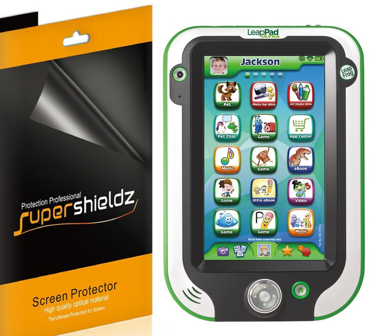 """[3-Pack] Supershieldz for LeapFrog LeapPad Ultra 7"""" High Definition Clear Screen Protector"""