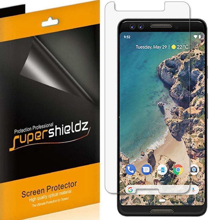 [6-Pack] Supershieldz for Google (Pixel 3) Screen Protector, Anti-Glare & Anti-Fingerprint (Matte) Shield
