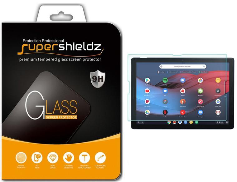 [1-Pack] Supershieldz for Google Pixel Slate Tempered Glass Screen Protector, Anti-Scratch, Anti-Fingerprint, Bubble Free