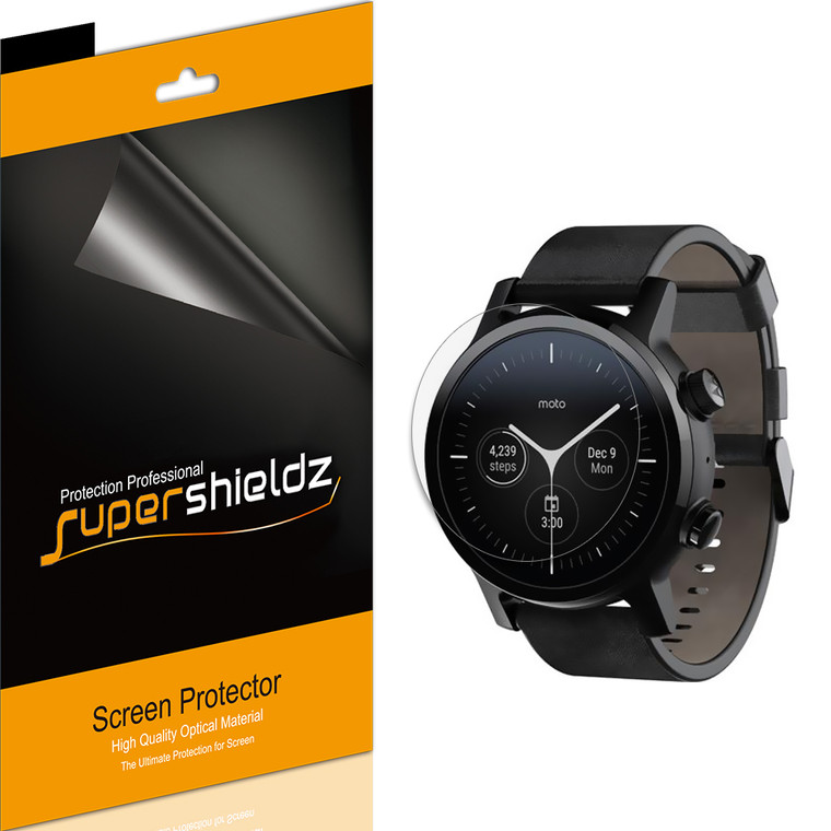 [6-Pack] Supershieldz for Fossil Sport Smartwatch 41mm (Gen 4) Screen Protector, Anti-Bubble High Definition (HD) Clear Shield