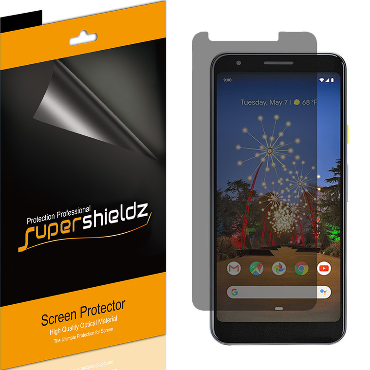 [2-Pack] Supershieldz for Google Pixel 3a XL Privacy (Anti-Spy) Screen Protector Shield