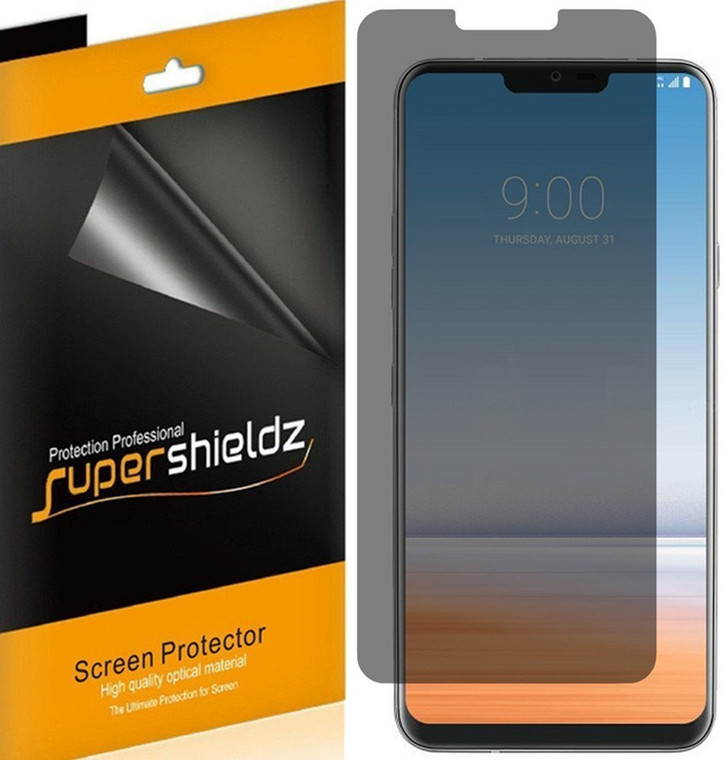 [2-Pack] Supershieldz for LG G7 Fit Privacy (Anti-Spy) Screen Protector Shield