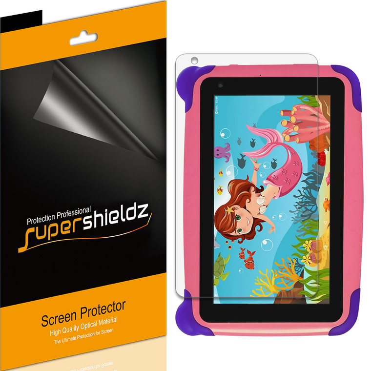 [3-Pack] Supershieldz for Contixo Kids Tablet K4 7 inch High Definition Clear Screen Protector