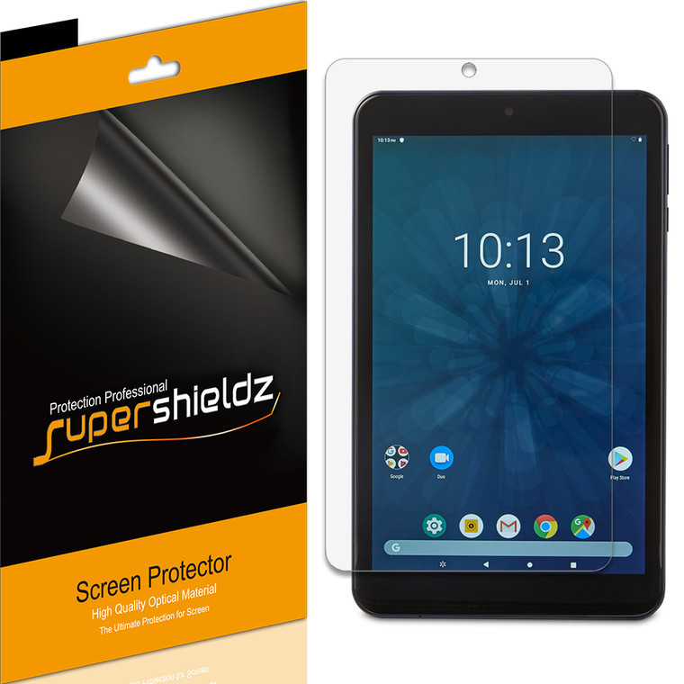 [3-Pack] Supershieldz for Onn 7 inch Tablet High Definition Clear Screen Protector