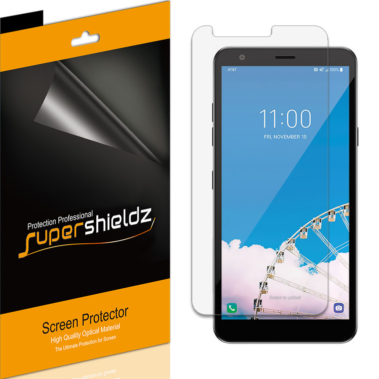 [6-Pack] Supershieldz for LG Tribute Royal Screen Protector, Anti-Bubble High Definition (HD) Clear Shield
